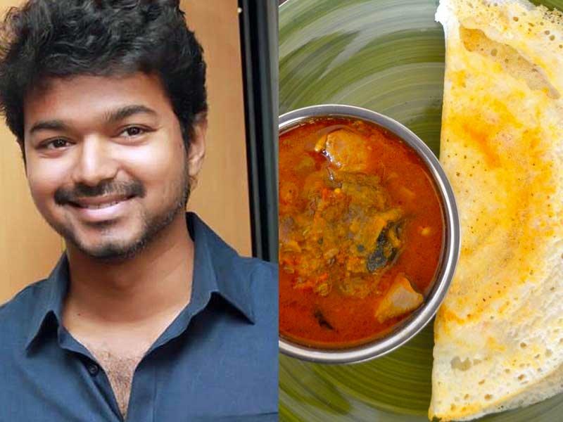 vijay favourite Food