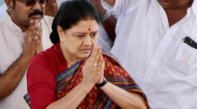 sasikala will be released on January 2021