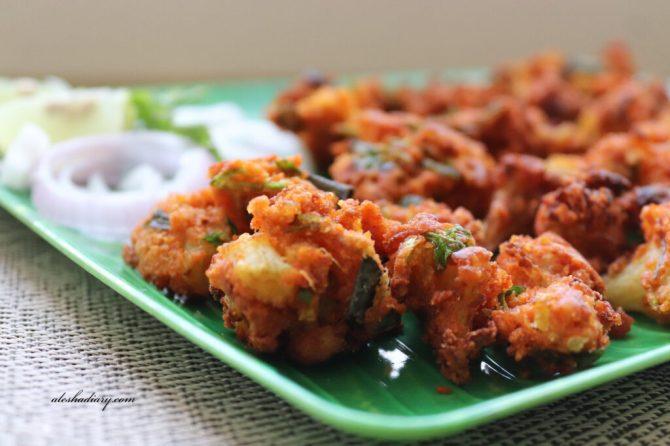 cauliflower pakoda recipe in tamil cauliflower pakoda