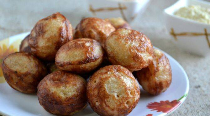 karuppati paniyaram recipe karuppati paniyaram in tamil