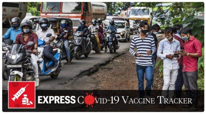 Covid-19 vaccine tracker Oct 5 India hopes to vaccinate 20-25 crore people by July next year