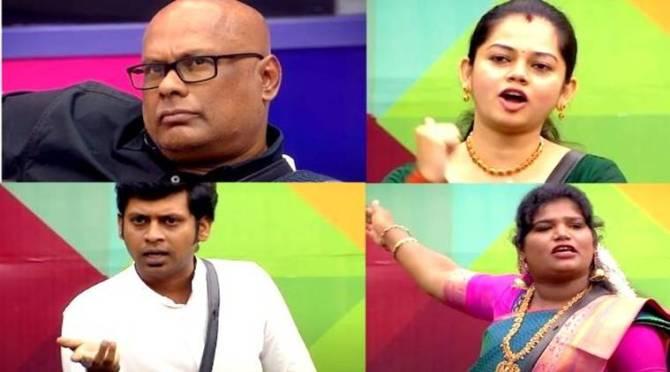 Bigg Boss 4 Tamil Vijay tv Suresh Aari Sanam Bala Review Day 18