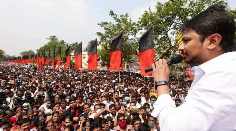 Case Filed Against Udhayanidhi Stalin and DMK youth wing members