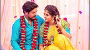 Chaitra Reddy gets engaged with filmmaker rakesh samala