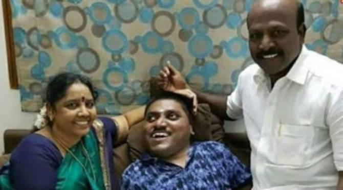 DMK MLA Subramanyan son death