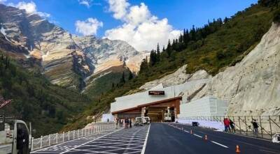 Prime Minister Narendra Modi inaugurates Atal Tunnal at Himachal Pradesh, atal rohtang tunnel