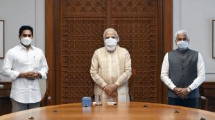 Andhra CM Jagan Mohann Reddy meets Prime Minister Narendra Modi in Delhi