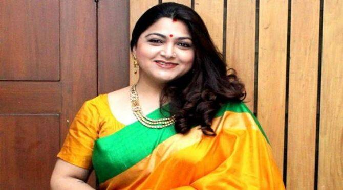 Khushbu Sundar Resigned from Congress