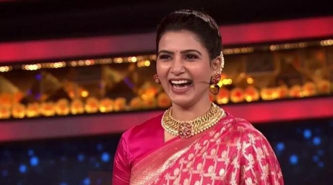 Samantha Akkineni in Telugu Bigg Boss 4
