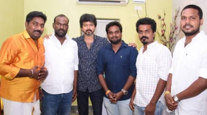 Thalapathy Vijay Discussion with Makkal Iyakkam Members