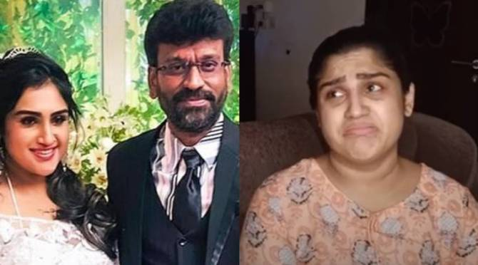 Vanitha Vijayakumar Peter Paul Issue, Vanitha Vijayakumar emotional video