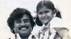 singer anuradha sriram with rajinikanth, singer anuradha sriram as little girl with rajin throw back photos, ரஜினிகாந்த் உடன் அனுராதா ஸ்ரீராம், குழந்தையாக அனுராதா ஸ்ரீராம், ரஜினி அனுராதா ஸ்ரீராம் புகைப்படம் வைரல், anuradha sriram rajinikanth throw back photo, rajini anuradha sriram photos goes viral, tamil cinema, playback singer anuradha sriram, trending photo, viral photo news