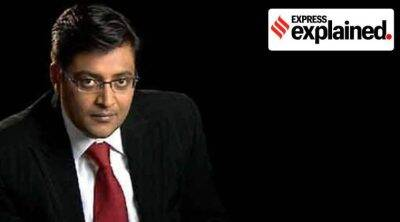 What are chapter proceedings initiated by Mumbai police against Arnab Goswami