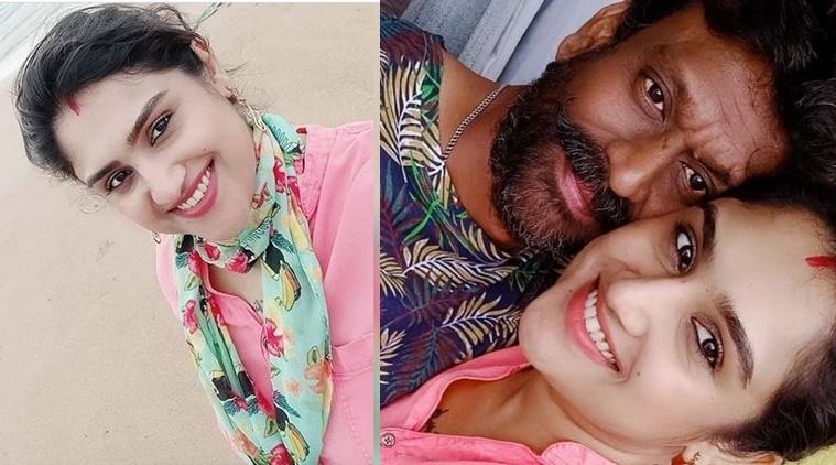 Bigg Boss 3 Tamil contestant Vanitha Vijayakumar celebrated her birthday in Goa