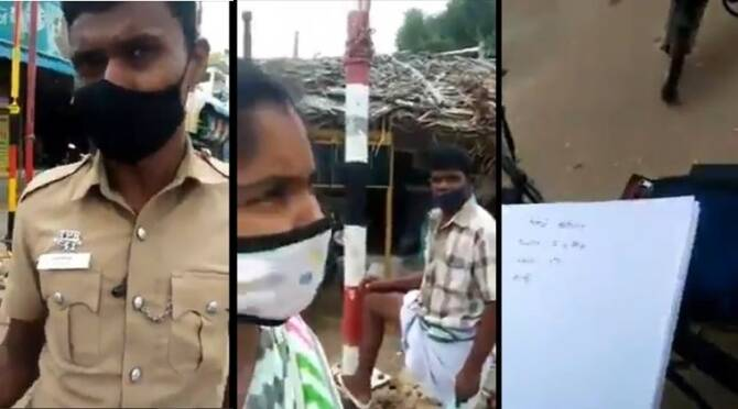 AR constable accused for inquiring about caste for not wearing mask in Tiruppur