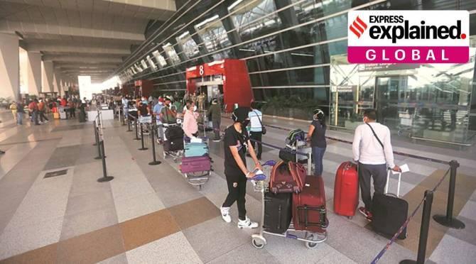 Air Bubbles India International flights Tamil news
