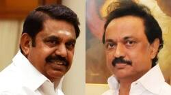 Tamil Nadu CM edappadi Palanisamy and DMK Leader MK Stalin traveled in the same flight