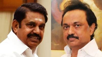 Tamil Nadu CM edappadi Palanisamy and DMK Leader MK Stalin traveled in the same flight