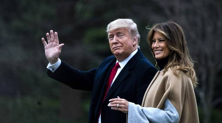 american president donald trump and first lady melania trump tested covid19 positive
