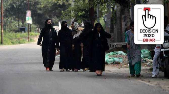 Bihar election, Bihar elections, Bihar assembly polls, பீகார் தேர்தல், ஐக்கிய ஜனதா தளம், Bihar Elections, BJP footprint grows, Nitish Kumar slips in Muslim base, ஆர்ஜேடி, நிதிஷ் குமார், பாஜக, முஸ்லிம் ஆதரவு, Muslim voter bihar elections, Bihar Muslim voter , Nitish kumar muslim voters, Covid rules Bihar election, Bihar election news, Bihar election coronavirus, bihar news, tamil indian express