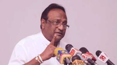 Sri Lanka minister Sarath Weerasekara criticizes India, india insisting on power sharing with Tamils, இலங்கை, தமிழர்கள், அதிகாரப் பகிர்வு, இந்தியா, சரத் வீரசேகரா, sri lanka minority tamils, sarath weerasekara, mahinda rajapaksa, pm modi, sri lanka