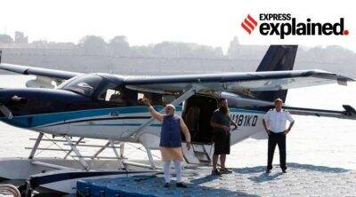 What is India's first seaplane project and how will it function
