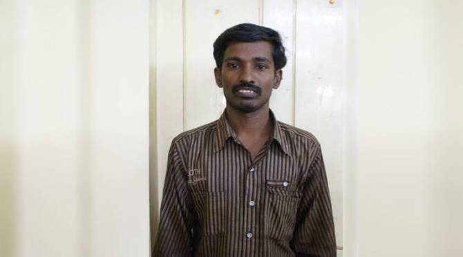 Trichy lalitha jewelry shop burglar case thief Murugan has passed away