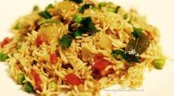 Tomato rice recipe without onion tamil