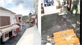 earthquake hits Turkey, earthquake hits Greece, Turkey Tsunami video, துருக்கியில் நிலநடுக்கம், துருக்கியில் சுனாமி, கிரீஸில் நில நடுக்கம், துருக்கி சுனாமி வீடியோ, Turkey izmir Tsunami video, viral video, tsunami viral video, turkey, greece