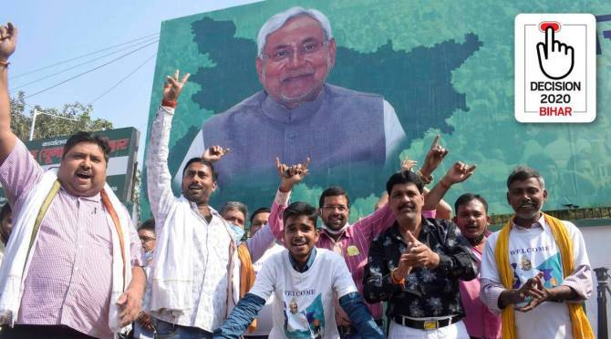 Will Nitish remain Bihar CM? No doubt, says BJP; but voices within talk of his reduced clout