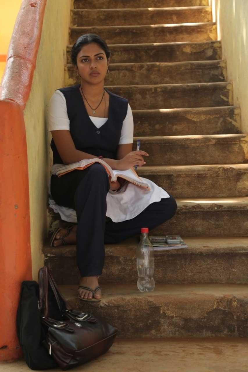 Actress in School Uniform- Amala Paul