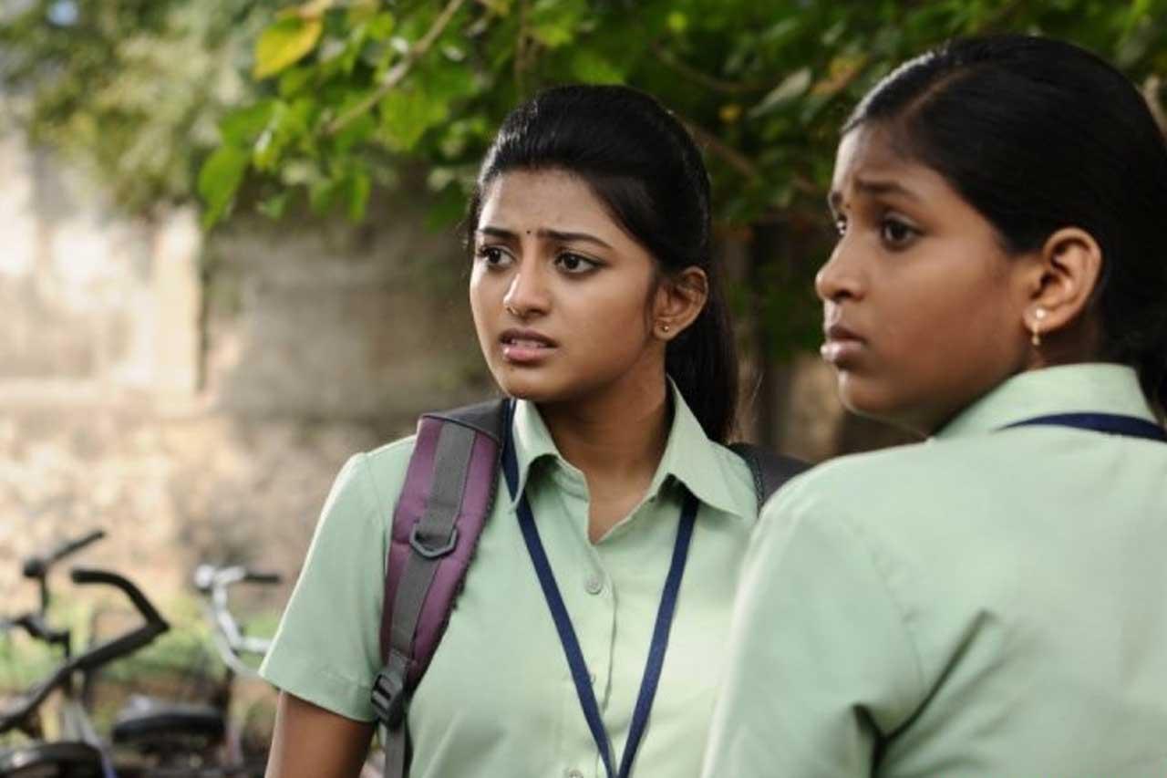 Actress in School Uniform - Anandhi