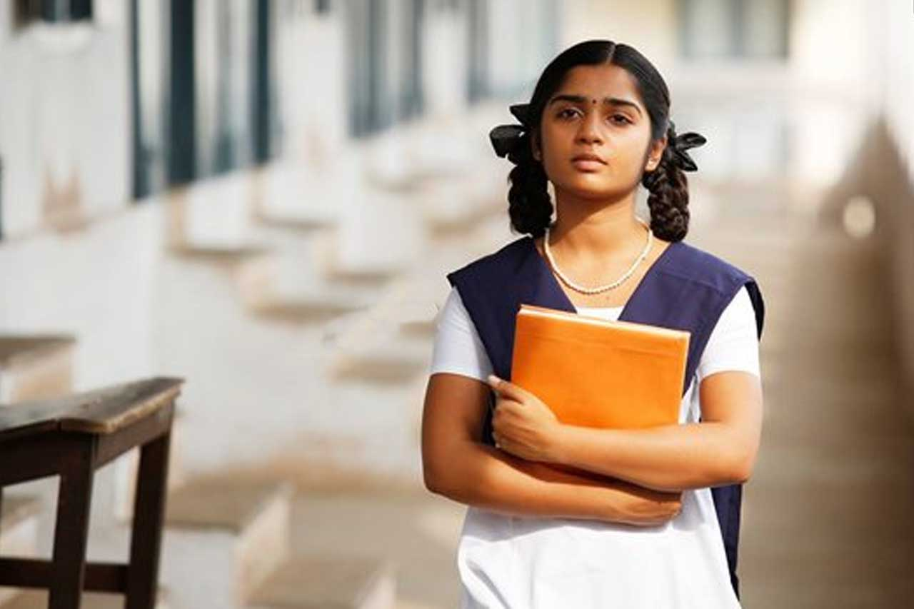 Actress in School Uniform - Gauri Kisan