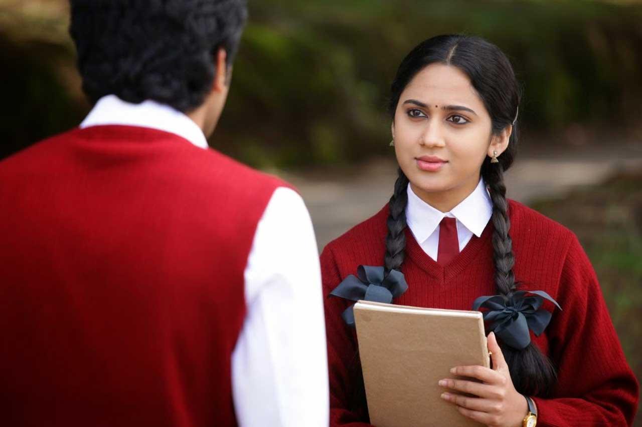 Actress in School Uniform- Mia George