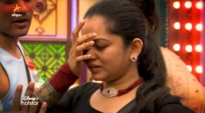 Bigg Boss 4 Tamil Vijay Tv Kamal Hassan Sanam Suchi Anita Shivani Day 42 review