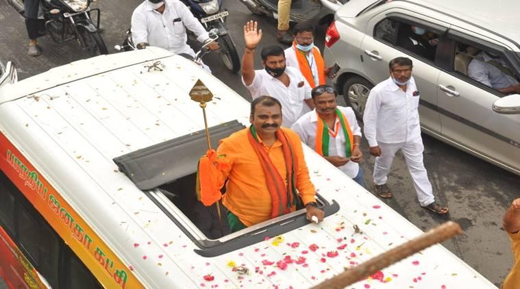 BJP Leader L Murugan Vel Yatra
