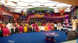 Bigg Boss 4 Tamil Vijay Tv Kamal Hassan Bala Gaby Aari Archana Sanam review Day 55
