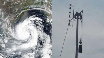 Cyclone warning signals
