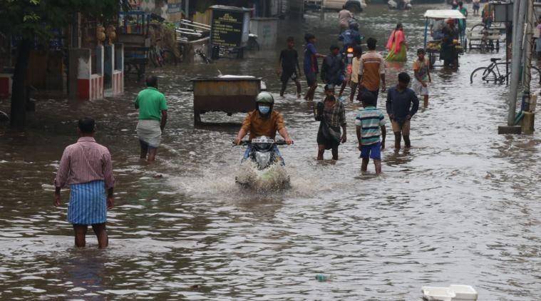 Nivar Cyclone in Chennai 1