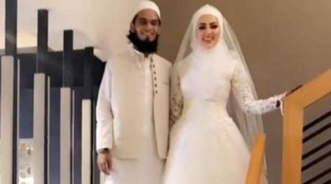Sana Khan gets married