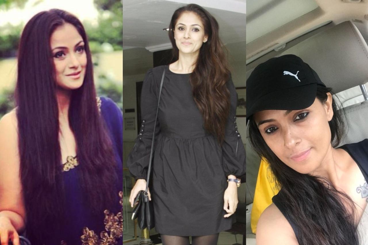 Tamil Actress with Long Hair