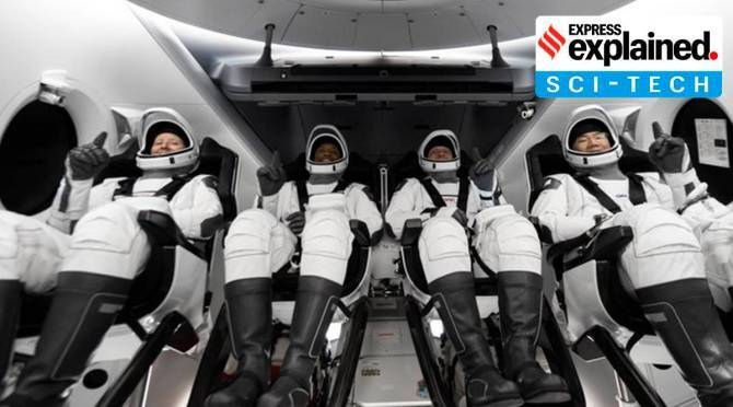 Spacex nasa crew 1 mission launch significance explained in Tamil