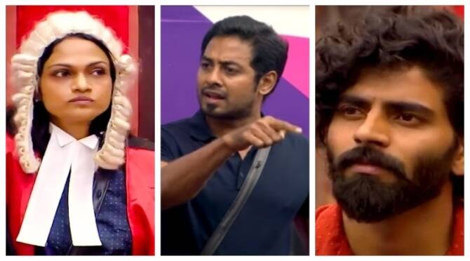 Bigg Boss 4 Tamil Vijay Tv Sanam Bala Aari Samyuktha Suchi Day 31 review