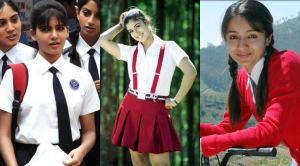 Tamil Cinema Actress in School Uniform