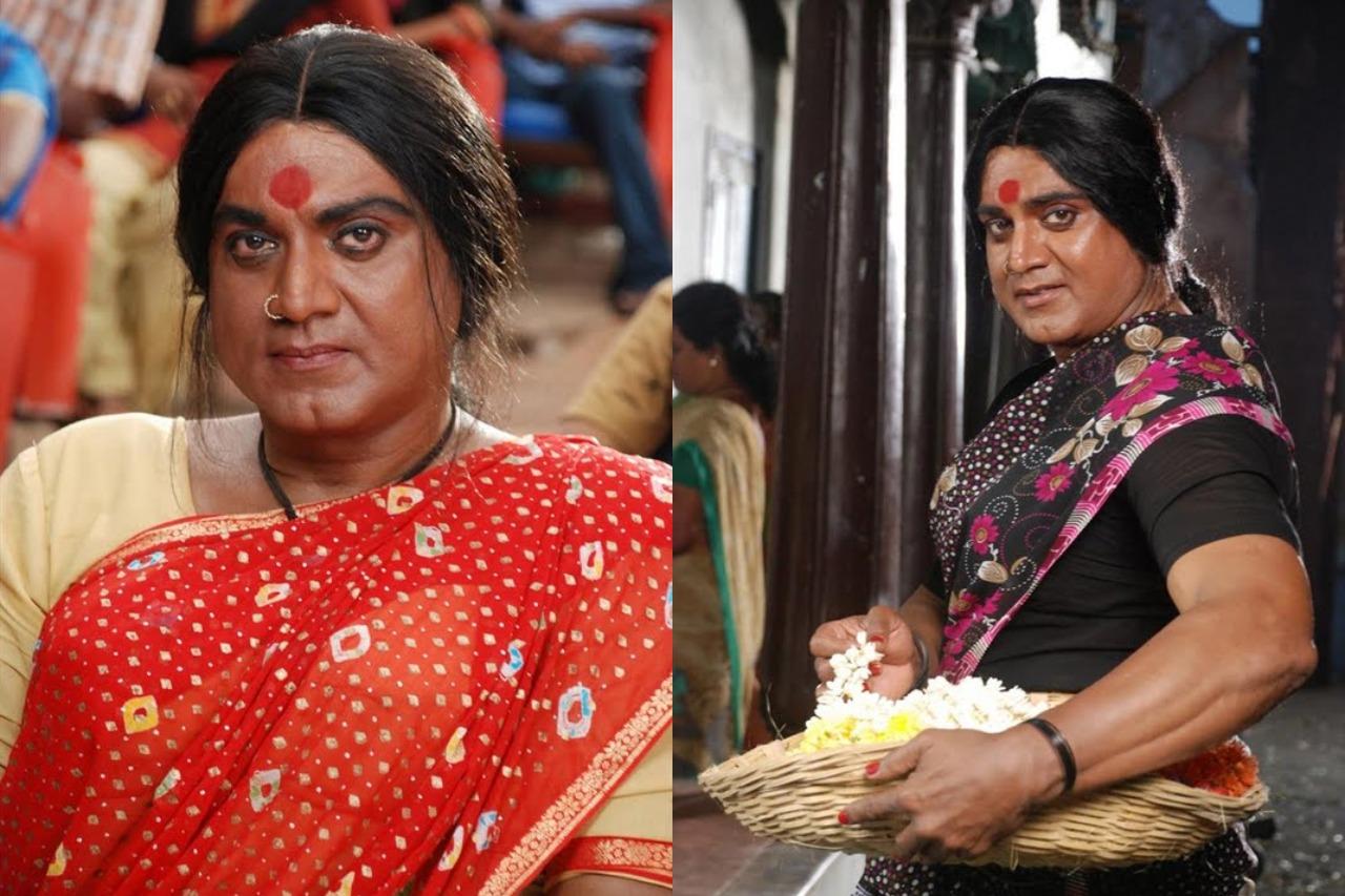 Tamil actors in Lady Getup - Sarathkumar