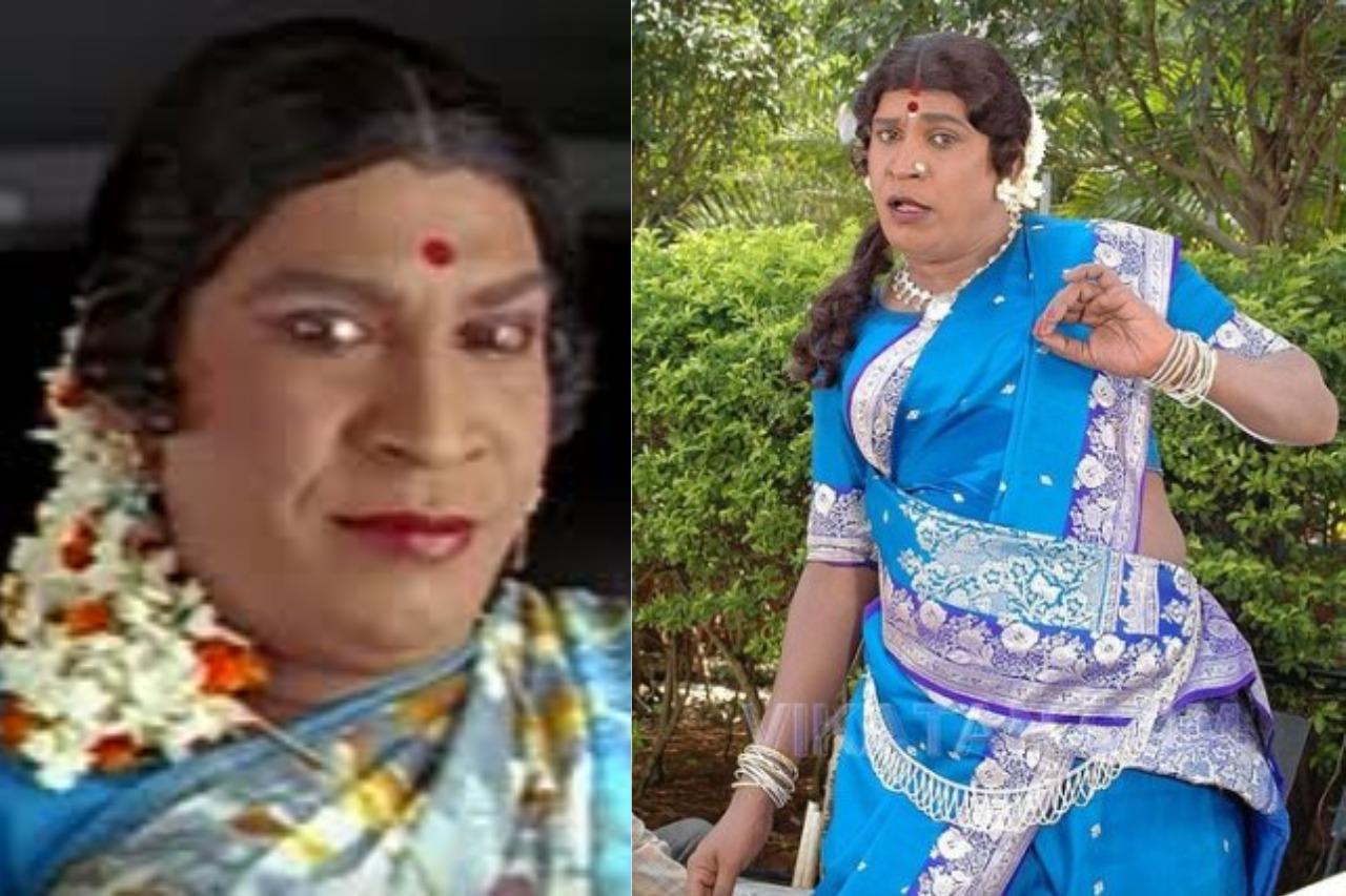 Tamil actors in Lady Getup - Vadivelu