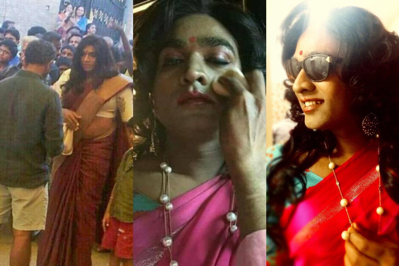 Tamil actors in Lady Getup - Vijay Sethupathi