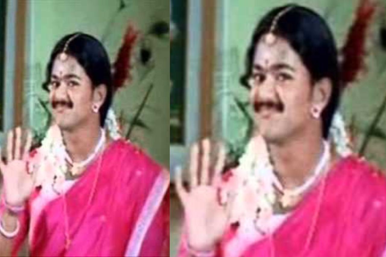 Tamil actors in Lady Getup - Vijay