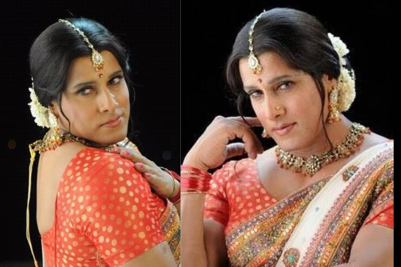 Tamil actors in Lady Getup - Vikram