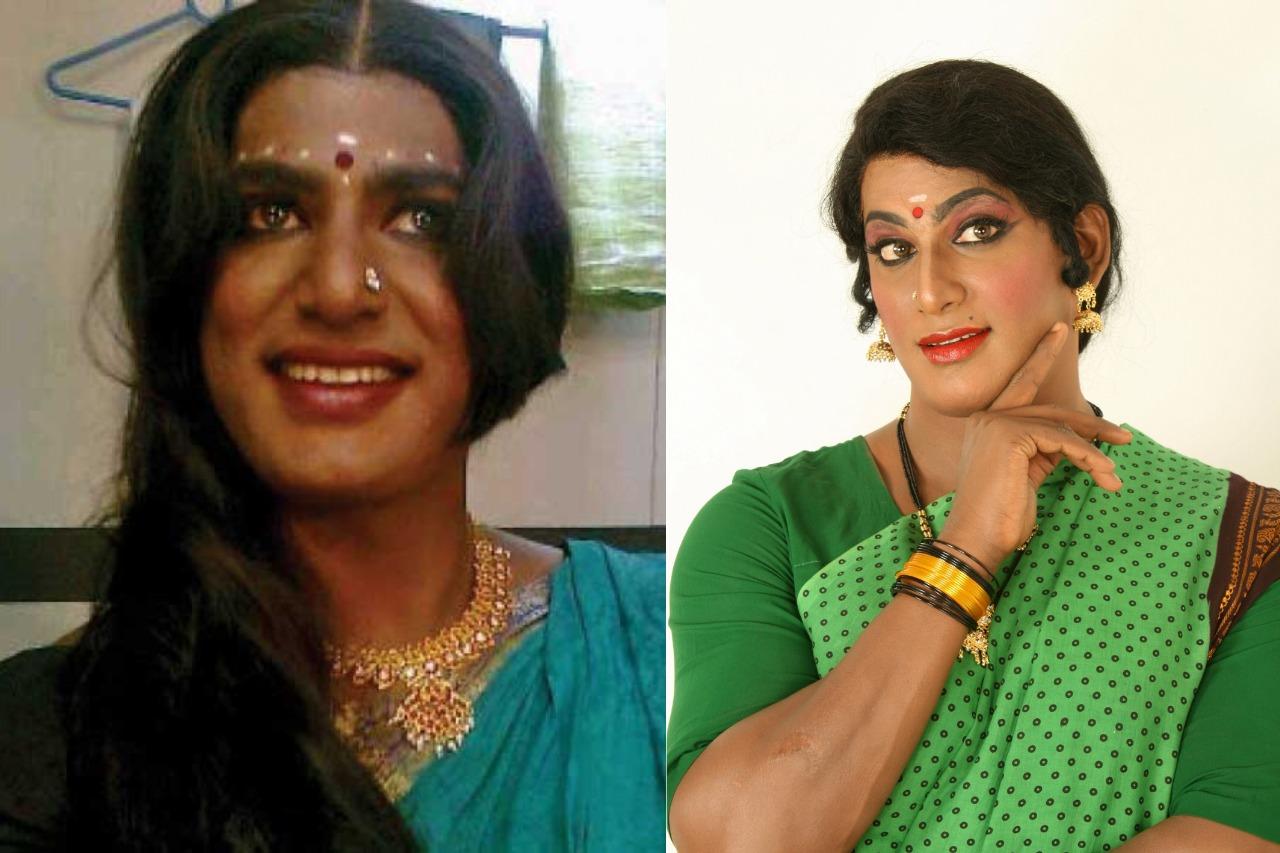 Tamil actors in Lady Getup - Vishal